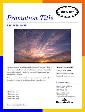 free flyer templates michael maguire business consulting - Microsoft Publisher Resume Templates